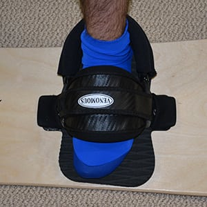 Sandboard Foot Straps & binding systems on the Sand Surfer terrain sandboard