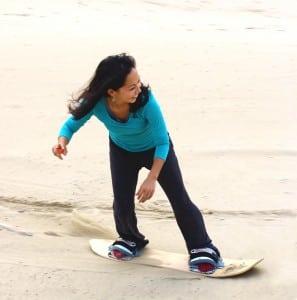 Sand Surfer terrain sandboard